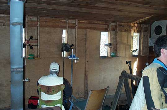 Another Shot Of The Inside Of The Shooting House.